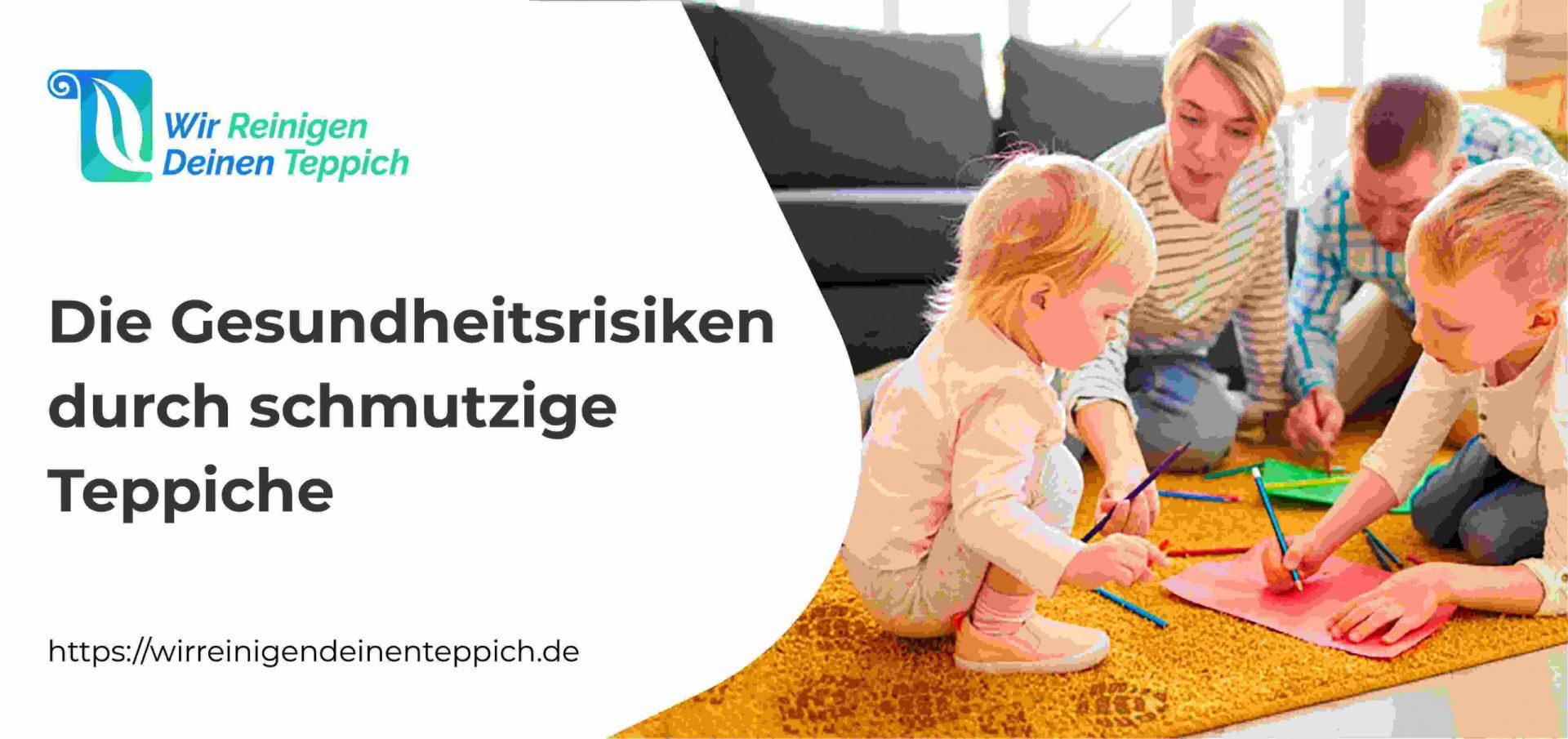 Die Gesundheitsrisiken durch schmutzige Teppiche