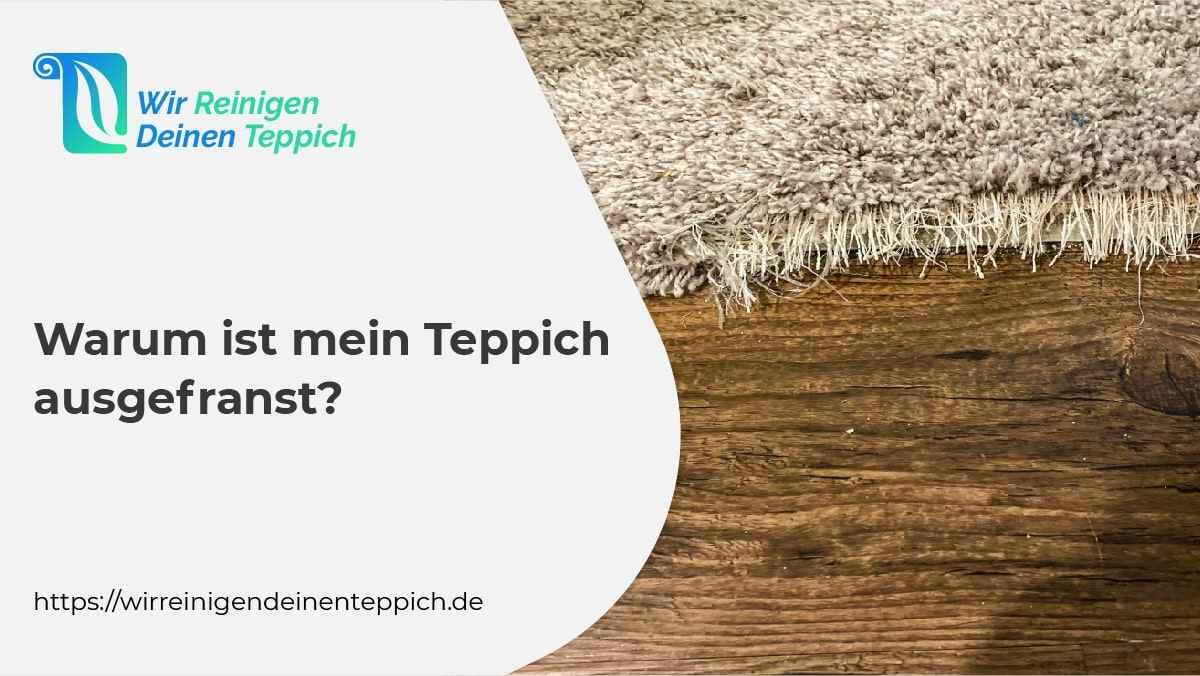 Teppich ausgefranst