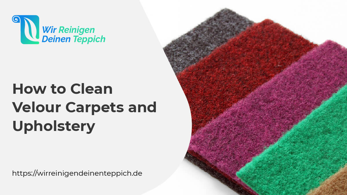 Clean Velour Carpets