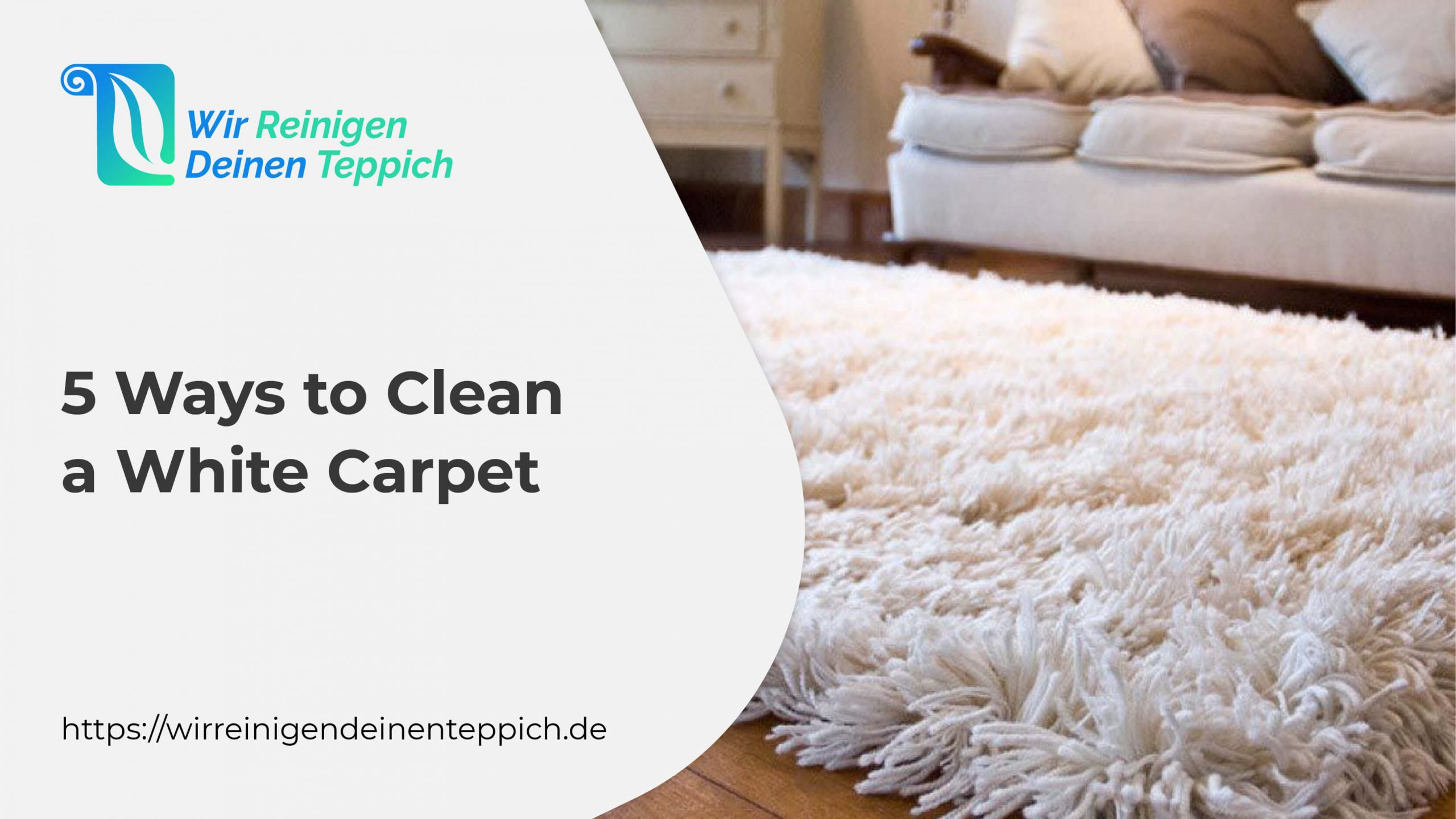 5 Ways to Clean a White Carpet